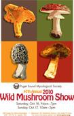 2010 Wild Mushroom Show Poster
