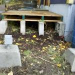 Pallet Deck under constrction