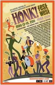 Goto Honk Fest West's Kickstarter Page