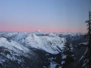 Sunrise on Glacier Peak