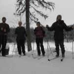 Four Nordic Skiing