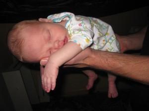 Elza Asleep